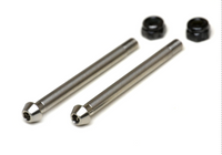EB410 REAR LOCKING HINGE PINS, titanium 1 pair