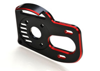 RB7 HD LAYDOWN MOTOR PLATE w/ gear cover, 2 color anodizing
