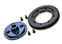ET410 MACHINED 32P SPUR GEAR AND MOUNTING PLATE