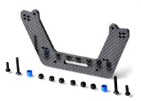 SLASH CF FRONT DRAG TOWER, for shorter 4Tec shocks
