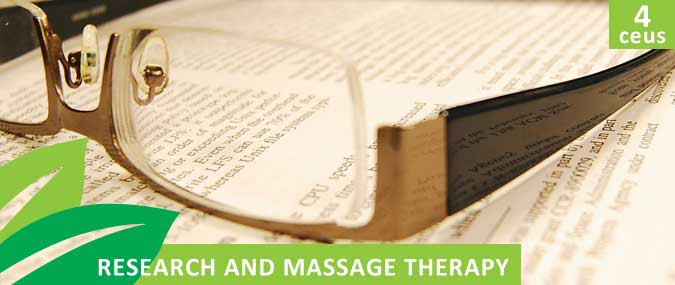 Research and Massage Therapy