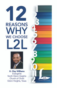 12 Reasons Why We Choose Lads to Leaders brochure - H. Clay Williams