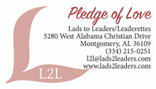 Pledge of Love card