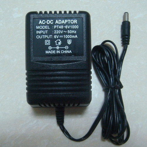 6V 1000mA Charger for Ride on car