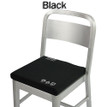 Battery Heated Seat Cushion - Black