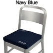 Battery Heated Seat Cushion - Navy Blue