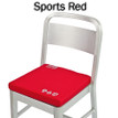 Battery Heated Seat Cushion - Sports Red