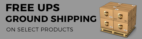 Free UPS on select products