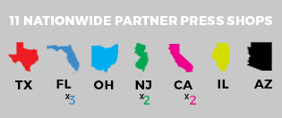 Partner Press Shops Nationwide