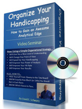 Organize Your Handicapping (On CD)