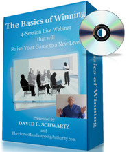 The Basics of Winning is a 6-week class for handicappers presented by horse handicapping authority Dave Schwartz. This class is all about making you a Sophisticated Bettor!