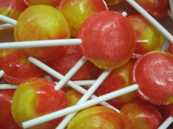 Mega Pear Drop Lollies x 10