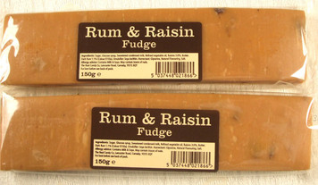 Rum & Raisin Fudge Bar
