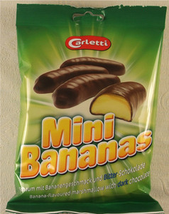 Mini Chocolate Bananas