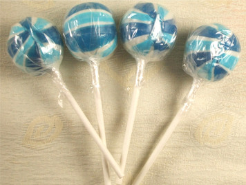 Blueberry Gourmet Lollipops x 4