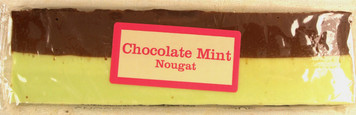 Chocolate Mint Nougat Bar