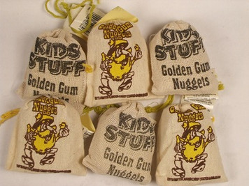 Golden Nuggets Bubblegum x 1 pack *