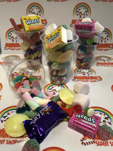 Candy Cups.....Filled with sweets, Party, Wedding Favours