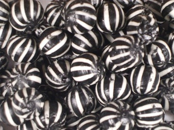 Gibbs Black and White Striped Balls