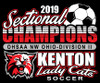 KHS Lady Cat Soccer Sectional Champions - Front Design