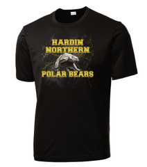 Hardin Northern Performance Black Tee