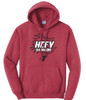 Heather Red Hoodie *Not Available in Youth Sizes