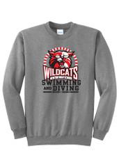 Kenton High School Swim Team CREW Sweatshirt