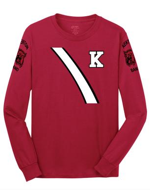 Kenton Band Uniform Long Sleeve Tee