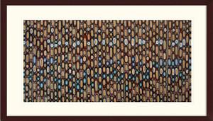 Red Brick Color Study | Anne Genung | Espresso Frame