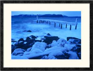Icy Storm | Lene Foss | Ebony Frame