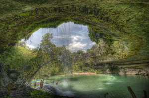 Hamilton Pool, Austin, Texas| Dave Wilson A popular swimming hole in Austin, Texas