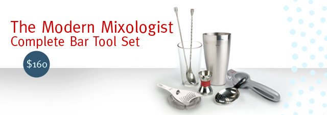 The Modern Mixologist - Complete Bar Tool Set