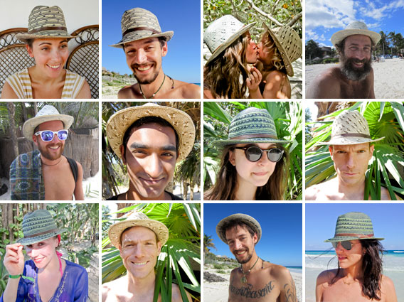 Colombian Iruaca Palm Hats
