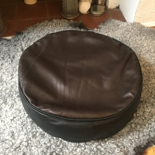 Zafu Meditation Cushion - LAMBSKIN