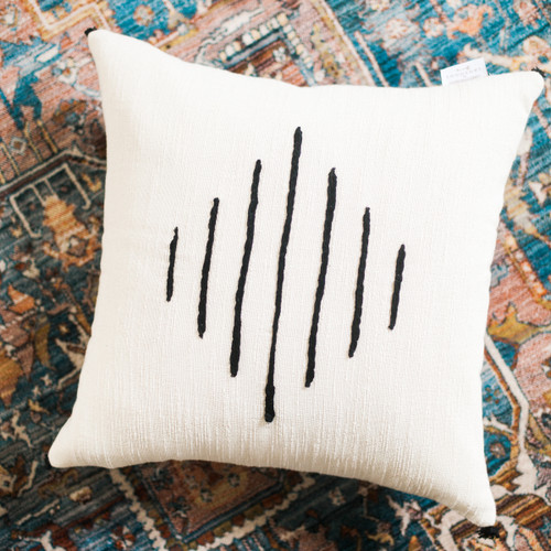 Tunisian Cushion Cover - Hela.  Price Includes Shipping!
