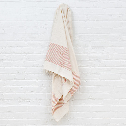 Riviera Towel+Wrap - Blush                                                    Free Shipping