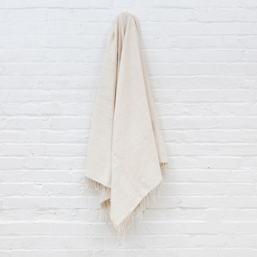 Riviera Towel+Wrap - Natural                                                    Free Shipping