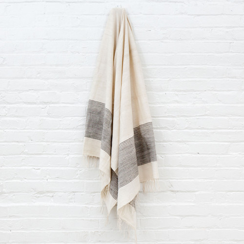 Riviera Towel+Wrap - Grey                                                   Free Shipping