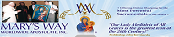 Marys Way Apostolate Store