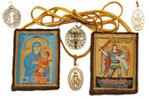 The 12-Way, All Protecting Brown Scapular with over 85 Protections!