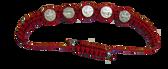 5 Medal Red Cord Saint Benedict Bracelet