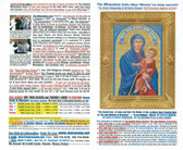 "200 Prayer Pamphlets all Blessed with Holy Water and with Blessed Incense. They are also all Touched to ""The Kissing Lips of Mary"" on The Original Miraculous Icon!"