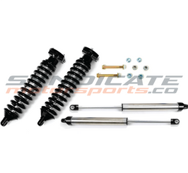 "2004-08 FORD F150 2WD 0-3"" DIRT LOGIC COILOVER SYSTEM W/ DIRT LOGIC REAR SHOCKS- FABTECH K2069DB"
