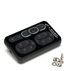 ACCUAIR - E-LEVEL TOUCHPAD CONTROLLER (BLACK ANODIZED FINISH): AA-TPAD-BA