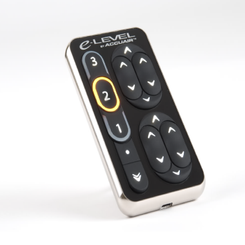 ACCUAIR - E-LEVEL TOUCHPAD CONTROLLER (ELECTROLESS NICKEL FINISH): AA-TPAD-EN