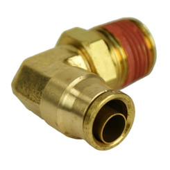 "ALKON - 1/4"" HOSE 1/4"" NPT 90 DEG PUSH-TO-CONNECT: 05-BF14-4"