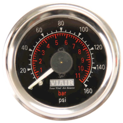 "Viair 2"" Dual Needle Air Gauge"