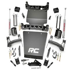 "ROUGH COUNTRY - 2014-UP GM 1500 2WD 5"" BRACKET KIT | LIFT KIT:  296.20"