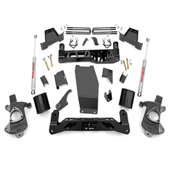 "ROUGH COUNTRY - 2014-UP GM 1500 PICK-UP 4WD 6"" LIFT KIT: 227.20"