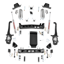 "ROUGH COUNTRY - 2004-15 NISSAN TITAN 2/4WD 6"" LIFT KIT:  875.20"